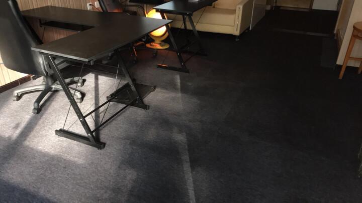 炫艺商用工程地毯写字楼办公室客厅卧室满铺地毯拼接方块纯色酒店宾馆北京可上门铺装 BA1-01 50CM*50CM PVC底 晒单图