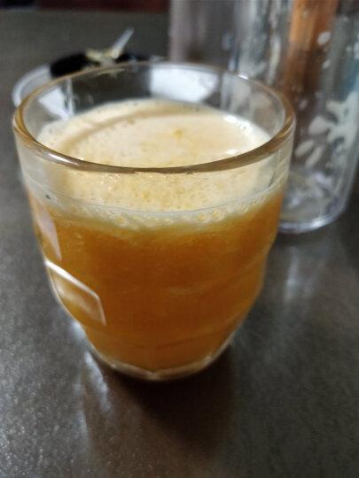 北美电器(ACA) 便携式榨汁机搅拌机双层果汁杯辅食料理AF-BD250A家用果汁机 浅蓝色 晒单图