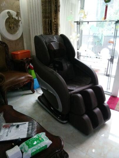 怡禾康 按摩椅YH-Z006SL家用全身电动太空舱老人按摩椅 多功能L导轨按摩沙发节日送礼 机械按摩版-咖啡色 晒单图
