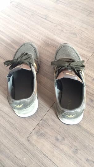 ARMANI JEANS 阿玛尼 男士时尚休闲运动鞋 935027 7A420 白色棕色 6.5/39 晒单图