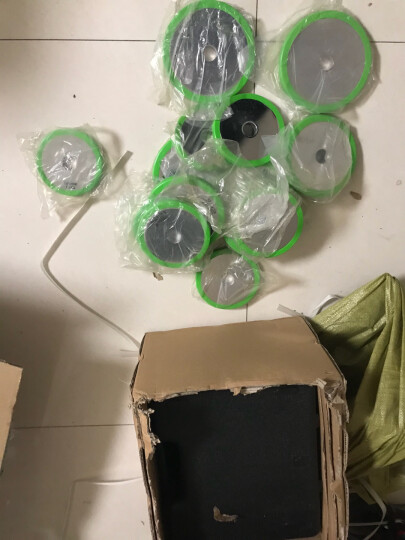 飞尔顿戴套哑铃杠铃组合可拆卸精装盒电镀哑铃男士运动健身器材 钢制哑铃20KG盒装枣弧杆 晒单图
