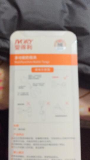 爱得利奶瓶 防摔标准口径带保护套晶钻玻璃婴儿奶瓶120ml A92 晒单图