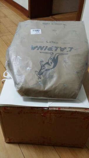 意大利袋鼠(L'ALPINA) 经典时尚热卖牛皮双肩包女士包包旅行背包女663021008ins 黑色 晒单图