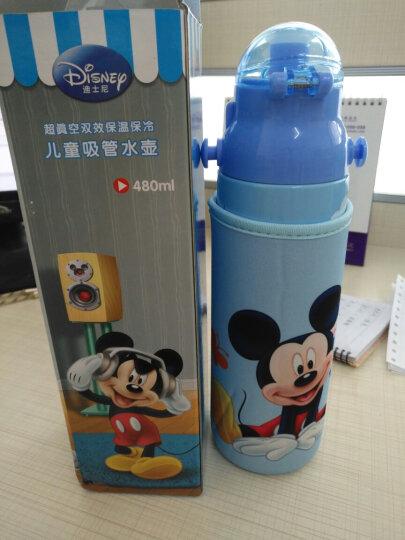 迪士尼(Disney) 迪士尼不锈钢儿童保温杯带吸管保温水壶水杯 男童女童便携学生保温瓶 维尼黄380ML 双盖(吸管盖+直饮盖+杯套) 晒单图