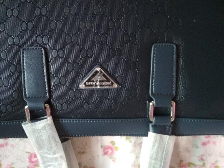 丹迪男包商务公文包男士包男包手提包时尚商务休闲男包包单肩包办公包 晒单图