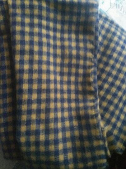拓瑟围巾女冬季新品学生韩版时尚加厚球球保暖女士围巾披肩 红色 晒单图