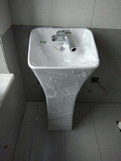 尚象卫浴(ELEFANTE) 立柱盆 小卫生间洗手盆 小型洗面盆 连体洗手盆 阳台洗脸盆 小盆+A龙头套餐 晒单图