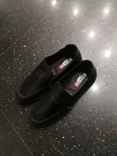 【大牌直降 闪电发货】卡帝乐鳄鱼(CARTELO)商务休闲男鞋时尚系带休闲鞋 暗棕 42 晒单图