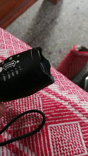神鱼SHENYU 强光手电筒 可充电式26650家用户外LED远射王 18650电池防水迷你便携照明 1012 T6芯 两电一充26650电池 更长续航 晒单图