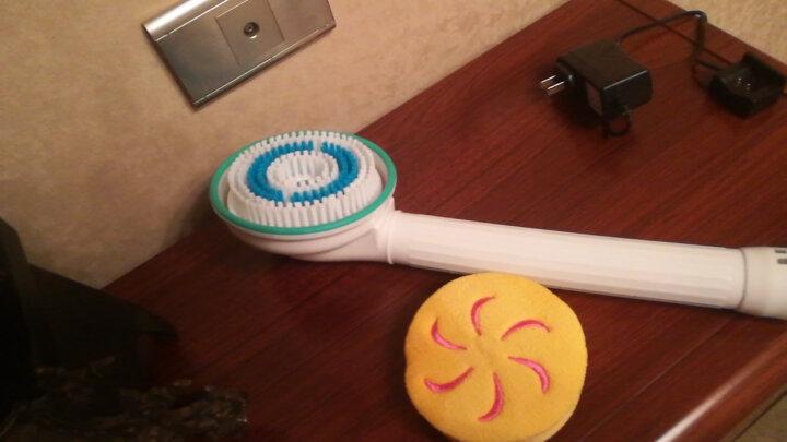 电动洗澡器升ji加强版搓澡刷电动沐浴刷卫浴搓澡搓背器 五代无线一球二刷 晒单图
