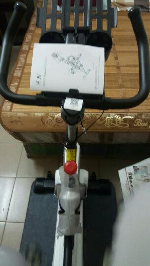 汗马 动感单车家用静音运动减肥器材健身车室内脚踏自行车 智能运动APP款-黑-100特粗车架 晒单图