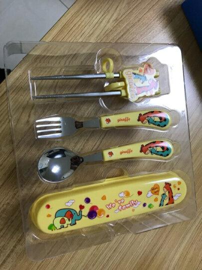 樱舒(Enssu)婴儿辅食碗儿童餐具套装组合 宝宝餐碗盒新生儿勺子婴幼儿调羹ES3111 晒单图