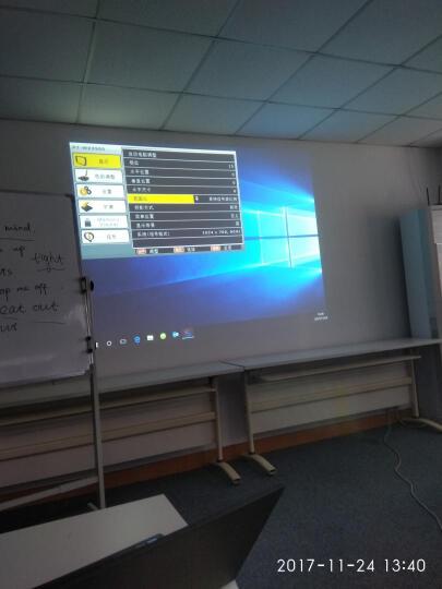 松下(Panasonic)PT-WX3700 办公 投影机 投影仪(XGA分辨率 3700流明  HDMI) 晒单图