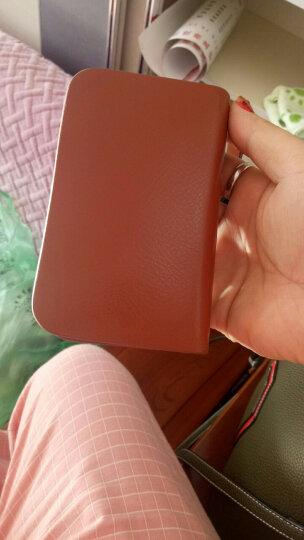多功能真皮钥匙包 可放大钞零钱包卡包的手包 牛皮锁匙包 带手腕带 土黄 晒单图