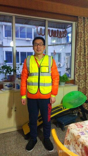 星工(XINGONG)实用型反光背心 交通指挥道路施工夜间作业反光服工作服 免费印字 荧光黄 L 晒单图