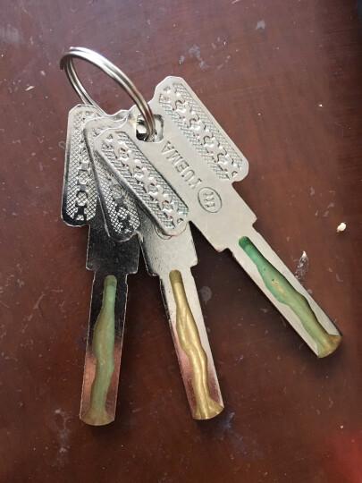 玥玛750E-9082抗剪玻璃门锁C级锁芯u型锁电动电瓶车锁摩托车锁 晒单图
