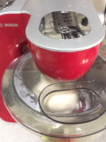 博世(BOSCH)料理机多功能厨师机和面揉面搅拌商用家用MUMVC00VCN香草白 晒单图