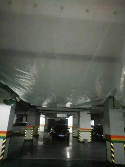 清水上苑 大棚膜 塑料布 加厚薄膜 防水布 透明布 防雨布 装修防尘布 12米宽大棚膜巨厚一米价格 晒单图