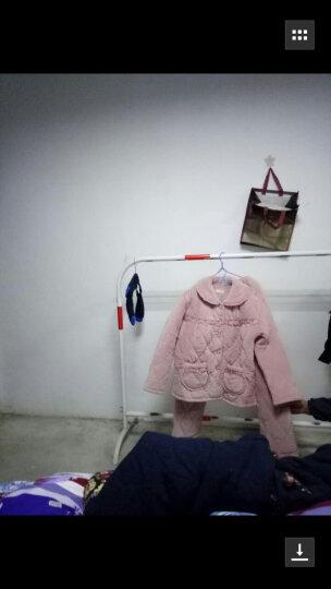 波波乐 睡衣女冬季加厚 珊瑚绒三层夹棉 韩版中老年大码冬季家居服套装 女2901西瓜 女 M 建议80-100斤 晒单图