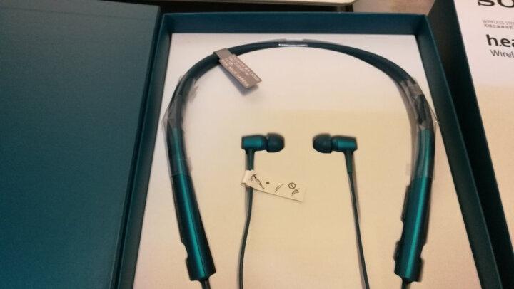索尼(SONY)h.ear in Wireless MDR-EX750BT 无线立体声耳机(朱砂红) 晒单图
