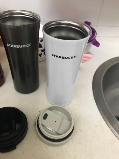 言合说 星巴克风格杯子保温杯男女咖啡杯随行杯情侣杯真空304不锈钢汽车载水杯 旅行杯 中国红款 晒单图