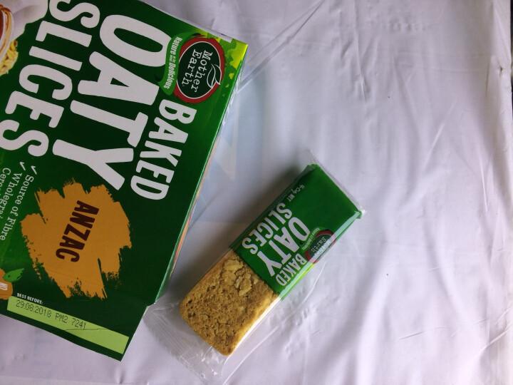 新西兰进口 MotherEarth妈妈农场香脆谷物燕麦条能量棒饼干代餐谷物早餐代餐多种口味 蜂蜜扁桃仁味 晒单图
