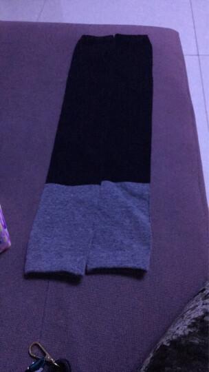 护膝保暖老寒腿男女士膝盖护关节自发热老年人加厚加绒冬季内穿漆 粉色加绒款 晒单图