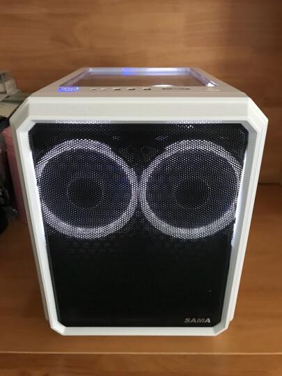 爱国者(aigo) 极光 12CM蓝光 电脑机箱风扇(小3P+大4P双接口/水冷排散热/减震脚垫/赠4螺丝) 晒单图