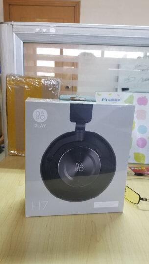 B&O PLAY beoplay  H7 无线蓝牙头戴式包耳手机耳机游戏耳机 触控操作 bo耳机 黑色 晒单图