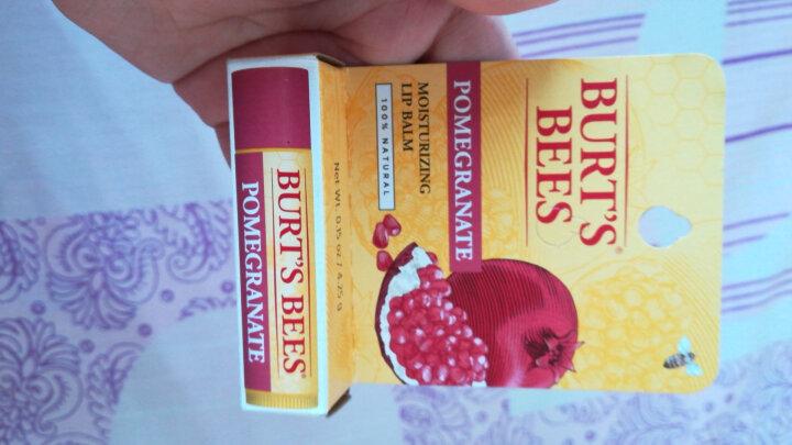 小蜜蜂(Burt's Bees) 美国润唇膏 保湿防干裂孕妇润唇膏女 婴儿童宝宝护唇膏 2支装樱桃+芒果 晒单图