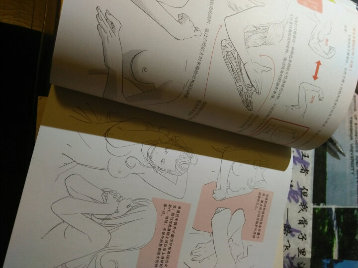 超级漫画创作技法图解教程:从人体解剖学习人物画法 晒单图