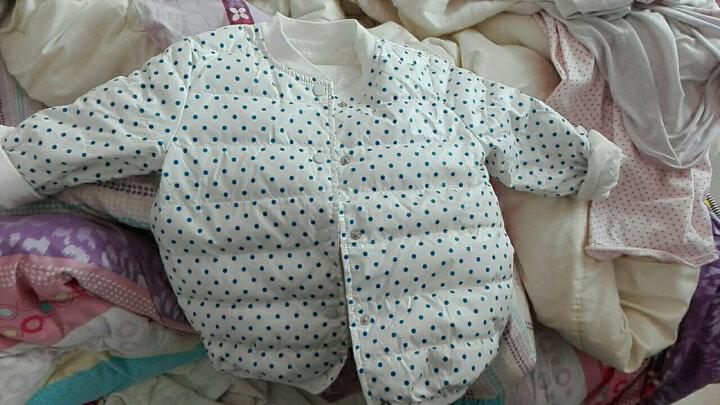 南极人儿童羽绒服冬季新款宝宝内胆上衣男童女童保暖外套外出服 粉色雨伞 100CM 晒单图
