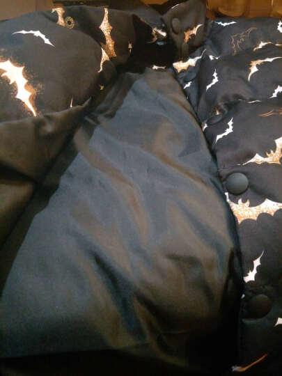 意者 马甲男2017秋冬季新款时尚短款保暖棉马夹坎肩韩版百搭加厚可卸连帽男士背心大码 B08黑色 5XL 晒单图