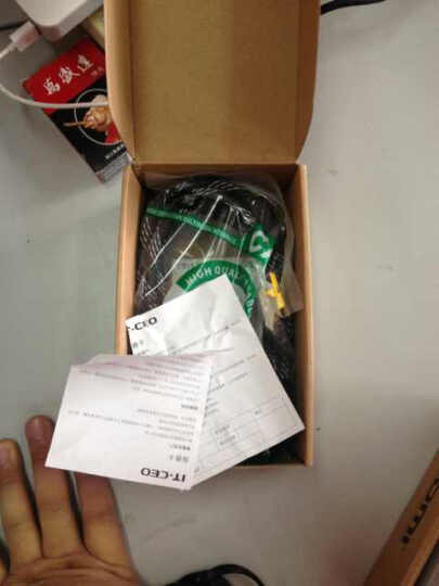 IT-CEO V08HW-1 HDMI数字高清线 带磁环屏蔽 机顶盒连接电视高清线 花色 2米 晒单图