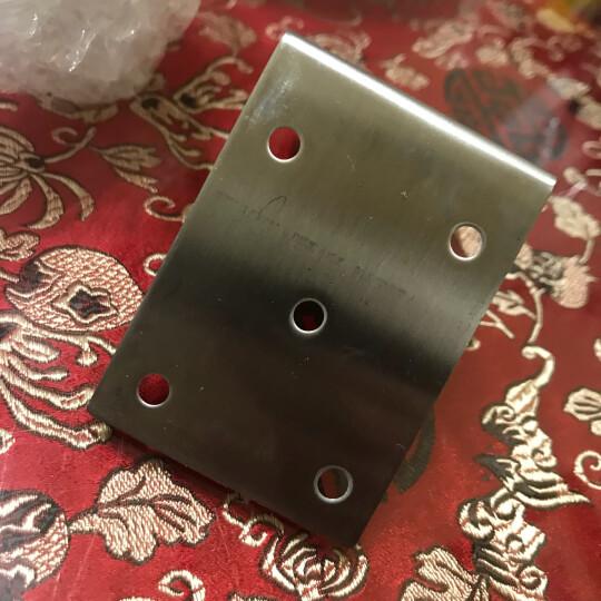 加厚不锈钢角码三面固定角码家具五金连接配件包角三边角铁 1只价 晒单图