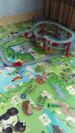 成乐美电动轨道车玩具托马斯轨道风火轮轨道火辣小跑车赛车玩具 轨道车配件电动小汽车(4只)款式随机 晒单图