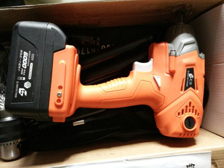 千辰无刷电动扳手/架子工扳手/脚手架扳手/电动板手/冲击扳手/锂电扳手 充电钻 有刷升级款42V6000毫安一电一充 晒单图