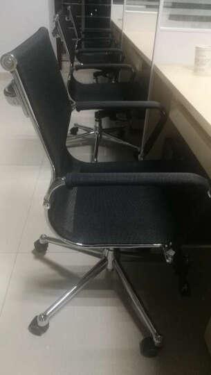 虹桥 电脑椅 全网转椅 中背经理椅 电脑椅子家用 转椅 升降办公椅 黑色 晒单图