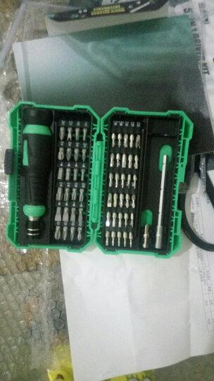 宝工(Pro'sKit) SD-9857M 57合1多功能螺丝刀套装电脑手机精密起子组 验电笔+标配版 晒单图