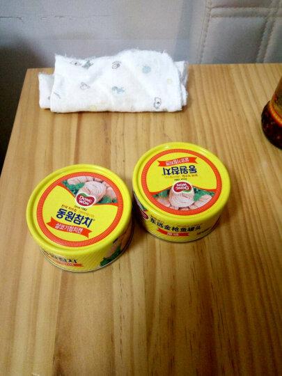 东远  金枪鱼罐头 韩国进口寿司料理吞拿鱼海鲜速食食品 原味100g*6罐 晒单图