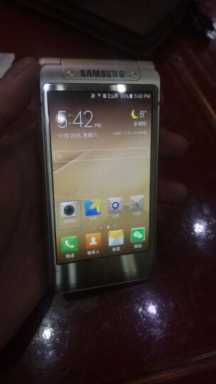 三星(SAMSUNG) 三星W2016 双卡双待 4G手机 尊贵金 电信4G(3GRAM+64GROM) 晒单图