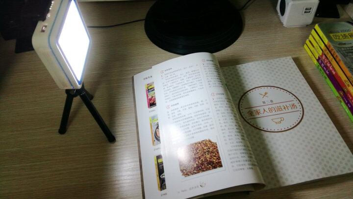 梦诺(MENGNUO) 创意小夜灯自带线超薄小巧充电宝20000M大毫安便携快充移动电源 中国红【苹果华为小米三星通用】 不带护眼台灯款 晒单图
