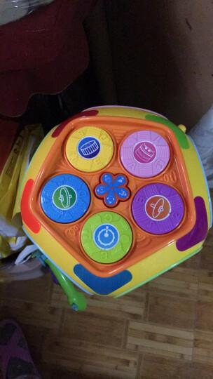 宝丽七面体益智屋儿童玩具多功能多面体游戏桌智慧屋婴儿宝宝玩具0-1岁2-3周岁小孩学习桌 赠品勿拍(早教书1本)内容随机 晒单图