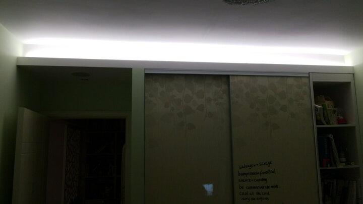 雷士(NVC) 雷士照明 LED灯管T5led灯带一体化支架照明暖光管灯具 T5支架双线连接头 暖黄光 晒单图