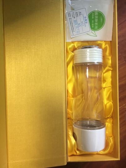 华阳新利 水素杯富氢水杯高浓度日本水素水杯充电便携水杯生成器电解水杯碱性养生杯 201款白色 晒单图