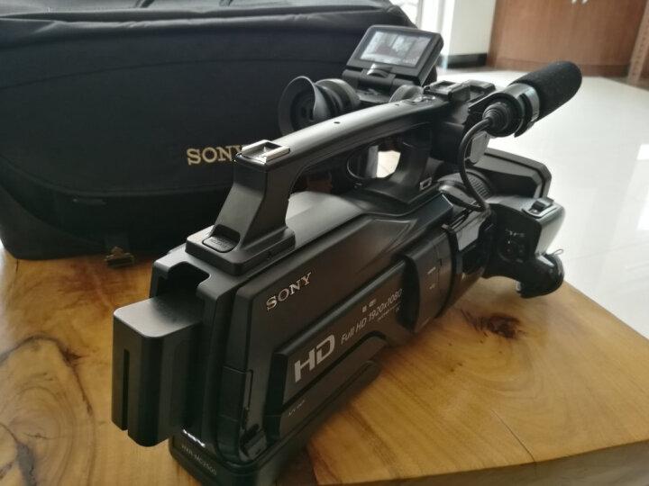 索尼(SONY)HXR-MC2500肩扛式高清数码摄录一体机 婚庆 会议专业数码高清摄像机2500C 黑色 套餐二 晒单图