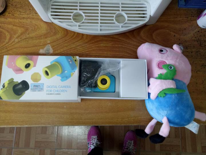摄徒M8儿童数码照相机 微型运动摄像机 复古单反拍照录像摄像头袖珍 迷你便携DV 玩具生日礼物 蓝色 套餐三 晒单图