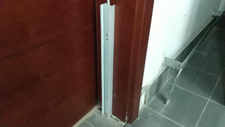 挡鼠板配电室用铝合金防鼠板厨房仓库不锈钢挡老鼠板 98*50cm 晒单图