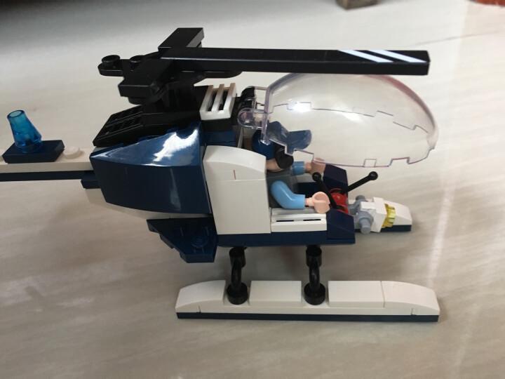 启蒙积木拼装玩具儿童益智拼插组装变形机器人金刚战神玩具男孩礼物6-12岁圣诞节儿童节礼物 变形的金刚-毁灭战神 晒单图