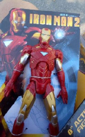 孩之宝复仇者联盟2变形金刚美国队长钢铁侠雷神绿巨人 可动人偶模型 发射器玩具 翻转系列变形金刚禁闭 晒单图